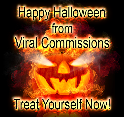 Happy Halloween from Viral Commissions
